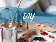 DIY - Faça você mesmo / Se gosta de trabalhos manuais, então essa pasta é para você. Vem ver os nossos DIYs!