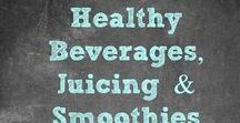 Healthy Drinkables - Juicing / Smoothies / Infused Water / Protein Shakes / Juicing & Smoothies provide so many health benefits! Find recipes to help with specific ailments or weight loss and health goals. #detox