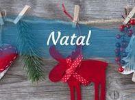 ✴ Natal ✴ / DIY, Decorações, Sugestões de Presentes, Receitas de Natal e muito mais!  #natal #presentes #diy #decoração #comida #receitas