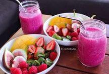 Breakfast > fruity bowls and yoghurt variations