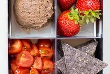 Healthy Lunch Boxes / Kid's school lunches don't have to be boring or include processed food.
