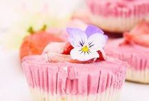 Raw/vegan minicheesecakes