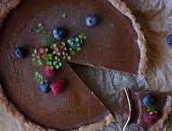 Chocolate, Pb, caramel... cakes, pies, tarts