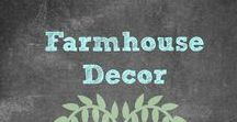 Farmhouse Decor / I am a HUGE Fan of Fixer Upper and Chip & Joanna Gaines. |These items are all inspirational pieces like she would use.| Farmhouse Decor | Rustic Decor | Shabby Chic | Primitive | #FixerUpper #HGTV