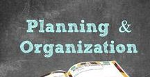 Planning & Organization / Find the Best Planning & Organization Tips. Save Time & Money! Learn How to Plan & Schedule Like a Pro! | Jennifer Dawn | Blogger