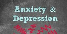Anxiety & Depression / Do you suffer from Anxiety or Depression? Find Natural Remedies to treat Anxiety & Depression / Meditate / Supplements for Anxiety / Mental Health / Symptoms of Amxiety / How to Treat Anxiety