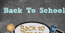 Back To School / Everything you need to make back to school a breeze! #backtoschool