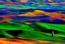 Lifes' Rainbows / Rainbow, multi color / by Linda Abrego-Sirianni