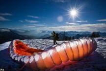Hoch hinaus / Impressionen aus der Luft auf Chiemsee und Voralpenland. Wunderschöne Aussichten auf unsere Seenlandschaft, das Inntal und Chiemgau - Das bieten Ballonfahrten, Gleitschirm-, Paragliding- und Tandemflüge im Chiemsee-Alpenland: