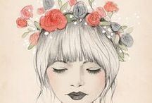 "❥ Whimsical Fantasies / ""We dream in our waking moments, and walk in our sleep"" - Nathaniel Hawthorne"