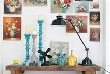 Inspiration / Artist Painter Yvon van Bergen The Netherlands Stockist Annie Sloan Chalk Paint. Website/Shop