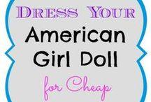 Panenky ost. (AG doll, Barbie, etc.) / DYI