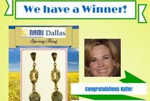 Spring Bling Giveaway!  Contest runs through 5/15/14 / Enter the NAMI Dallas Spring Bling Giveaway just by entering your email address!  Help us share the mental health education, advocacy and support work that NAMI Dallas is doing in the community. The winner will be chosen at random when the contest ends on May15th at midnight. The more Likes and shares the better!  Our thanks to Nan Lee Jewelry (http://www.nanleejewelry) for their kind donation of these beautiful sterling silver with 18k gold plating and Labradorite drop earrings valued at $129.