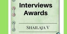 Features, Interviews & Awards for Shailaja / Features and interviews for the blogger and writer. I've spoken on depression, blogging, writing and more. Check out the pins to know details.