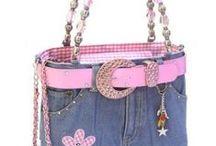 Denim - Bags & handbags / DIY - recycled jeans