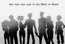 """❥ PERCY JACKSON / """"Delaying death is one of my favourite hobbies"""" - Percy Jackson"""