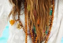 Bohemian and hippie chic style / bohemian and hippie chic fashion