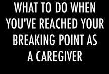 nurse, eldery care etc. / my job and it's humor.