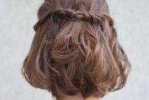 Hairs / Cortes, penteados, inspirações para festas e dia a dia :)
