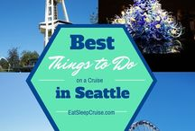 Pacific Northwest Cruise Guide / Have a cruise departing from Seattle? Check out these tips and reviews of popular Seattle and other Pacific Northwest activities. #Cruise #Seattle #PacificNorthwest