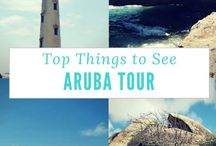 Cruise to Aruba / Visiting Aruba on your next cruise? Here, we give you our insider tips and reviews of what do to during your visit to this Southern Caribbean port of call. #Cruise #Caribbean #Aruba