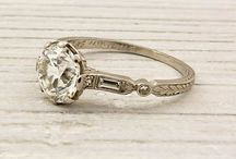 Vintage wedding ring / jewelry / Rings