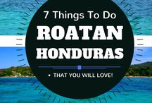 Cruise to Honduras / Are you taking a cruise that stops in Roatan or Mohogany Bay, Honduras? Here, we give you all the details you need about cruising to this Caribbean port of call. #Cruise #Caribbean #Roatan