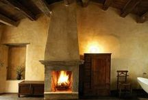 Fireplace / Fireplace, fireplace mantels architectural designs.
