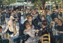 Pierre-Auguste Renoir  / Pierre-Auguste Renoir was a French artist who was a leading painter in the development of the Impressionist style.