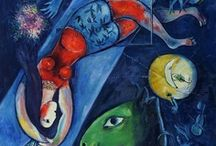 Marc Chagall  / Marc Zaharovich Chagall was a Russian artist associated with several major artistic styles and one of the most successful artists of the 20th century.
