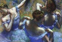 Edgar Degas  / Edgar Degas; born Hilaire-Germain-Edgar De Gas; 19 July 1834 – 27 September 1917 was a French artist famous for his paintings, sculptures, prints, and drawings.
