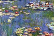 Claude Monet  / Claude Monet was a founder of French impressionist painting, and the most consistent and prolific practitioner of the movement's philosophy of expressing one's perceptions before nature, especially as applied to plein-air landscape painting.