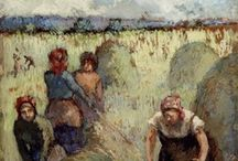 Camille Pissarro  / Camille Pissarro was a Danish-French Impressionist and Neo-Impressionist painter born on the island of St Thomas. His importance resides in his contributions to both Impressionism and Post-Impressionism.