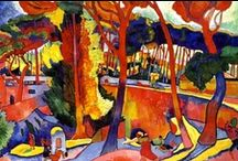 André Derain  / André Derain was a French artist, painter, sculptor and co-founder of Fauvism with Henri Matisse.