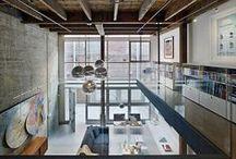 Industrial  / Industrial living spaces