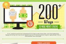 Make Money Online Infographics