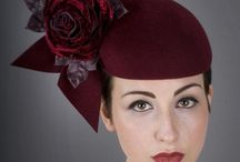 Hats.........and other decorations to the head /  Fashion to the head / by Lisbeth Rasmussen