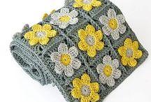Crochet scarf, shawl & wrap