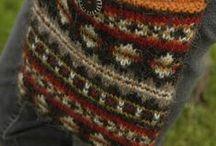 vyplétané vzory (faire isle paterns) / pletení