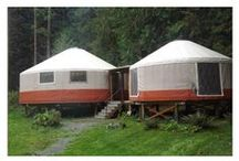 Yurt Living / Exploring the possibility... reality... imagining living in a yurt.