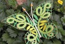 paličkování - motýli