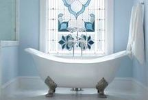 Bathroom | INTERIOR DESIGN / Bathroom interior styling. Interior home decor, cool bathroom designs.