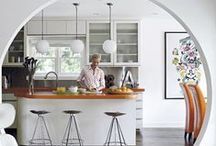 Dining | INTERIOR DESIGN / Kitchen and dining interior styling and design. Interior home decor, dining and kitchen areas
