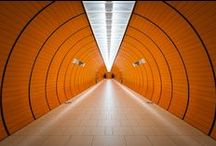 Tunnels / photography of artificial and vegetal tunnels