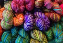 Pendragon Yarn by Avalon Springs Farm / Pendragon is one of my hand-dyed yarn bases. I do all my own color work and the dyeing at my studio on our small fiber farm in Mount Airy, MD USA.