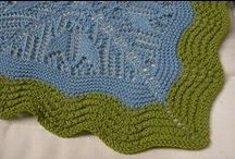 šály a šátky / pletení