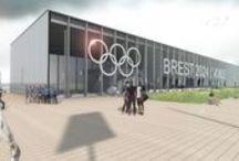 Village Olympique à Brest / Projet d'architecture pour le Village Olympique 2024 à #Brest