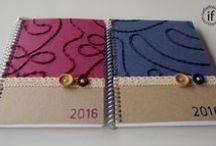 Agendas/Diaries / Handmade agendas