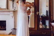 Brides of Ollichon / Real life weddings with gorgeous brides wearing House of Ollichon bridal jumpsuits and two-pieces.