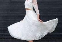 Bridal Skirts / Beautiful bridal skirts for the perfect alternative wedding day style.